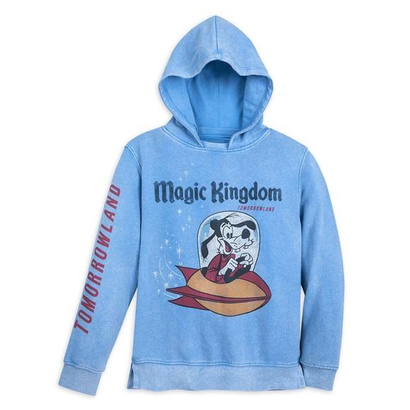 Disney Other - Boys Disney Goofy Tomorrowland Hoodie By Junk Food